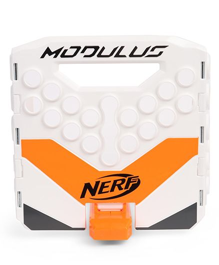 Nerf Modulus Storage Shield - Orange White