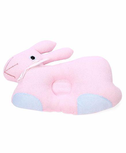 Baby Pillow Rabbit Shape - Pink