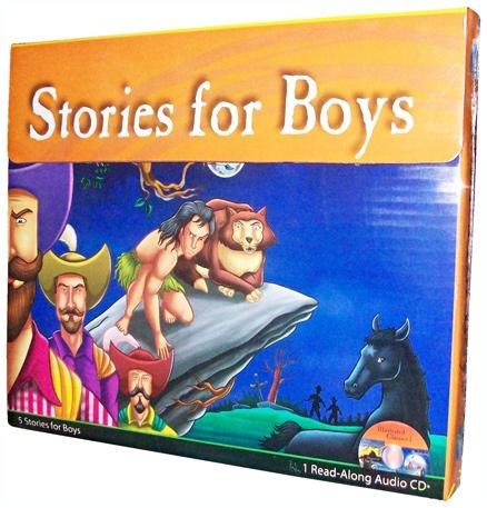 Pegasus Stories for Boys Audio Pack 1 - English