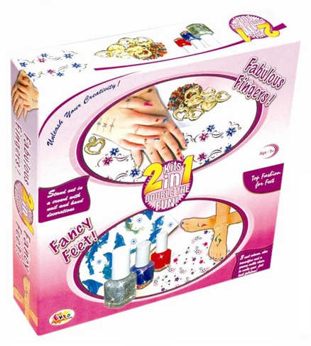 Ekta Fabulous Finger Fancy Feet Game