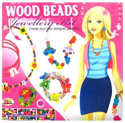 Ekta Wood Beads Jewellery Kit