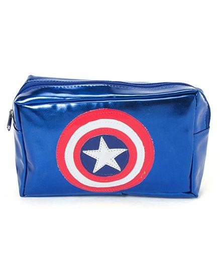 LiLl Pumpkins Pack Of 8 Superhero Printed Multipurpose Kit - Blue