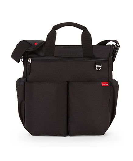 Skip Hop Duo Signature Diaper Bag With Portable Changing Mat - Brown