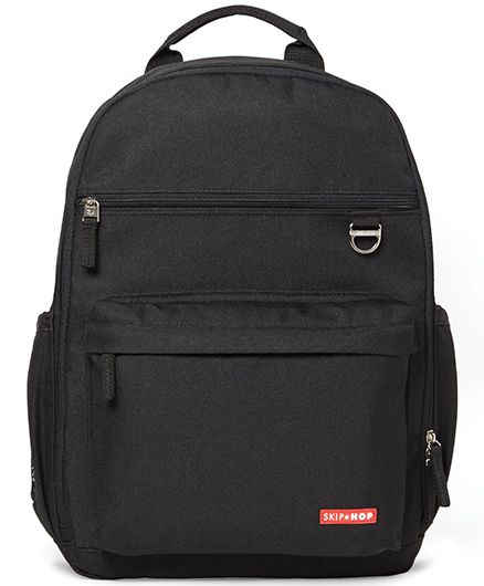 Skip Hop Duo Nappy Backpack - Black