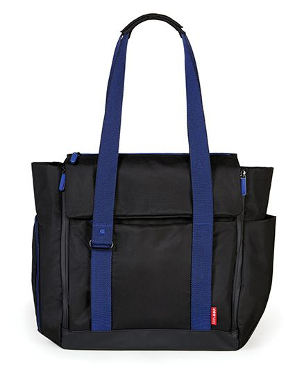 Skip Hop Fit All Access Diaper Tote Bag - Black