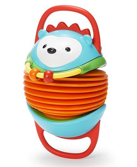 Skip Hop Explore And More Musical Hedgehog Accordion Activity Toy - Blue Orange