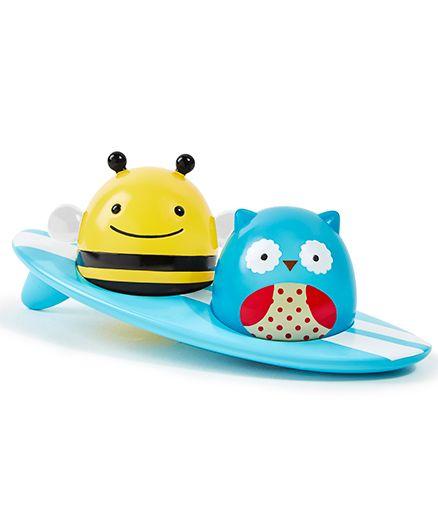 Skip Hop Zoo Bath Light-Up Surfers Bath Toys - Multicolor