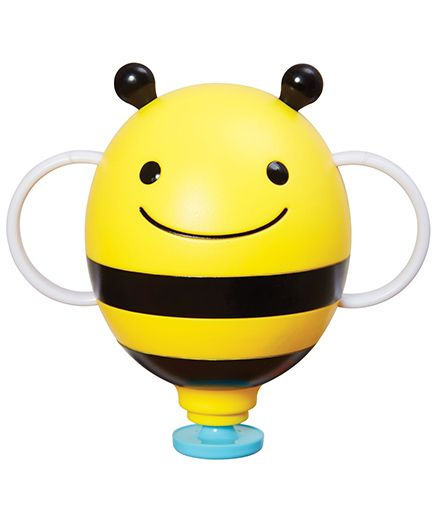 Skip Hop Zoo Fill Up Fountain Bee Bath Toy- Yellow