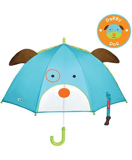 Skip Hop Little Kid And Toddler Umbrella Dog Design - Blue
