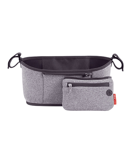 Skip Hop Grab-And-Go Stroller Organizer Universal Fit - Grey