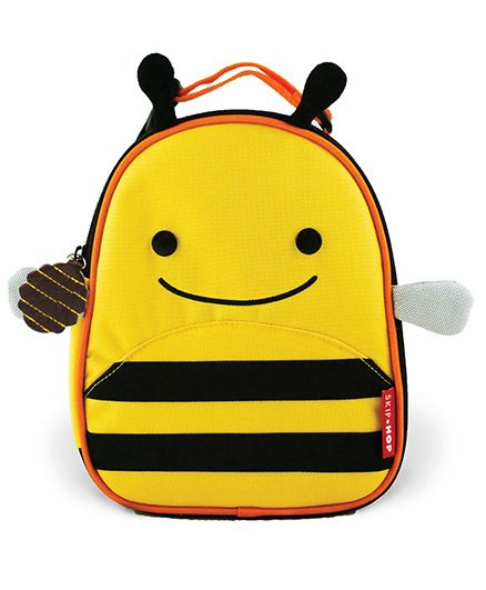 Skip Hop Insulated Lunch Bag Brooklyn Bee Design - Yellow