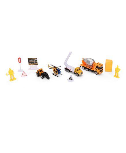 Playmate City Hero Diecast Construction Set - 12 Pieces