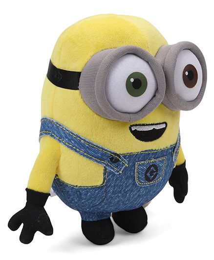 Minions Bob Plush Toy Blue Yellow - Height 20 cm