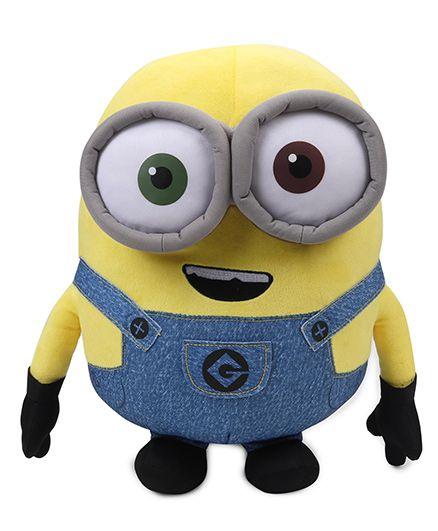 Minions Bob Plush Toy Blue Yellow - Height 40 cm