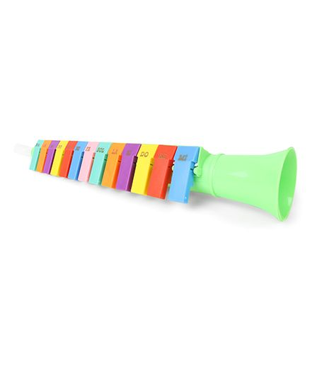 Musical Trumpet Baby Toy - Multicolor - 1470777