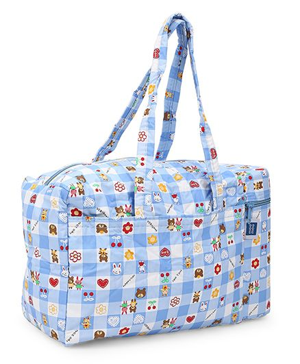 Mee Mee Bag With Warmer Printed - Blue