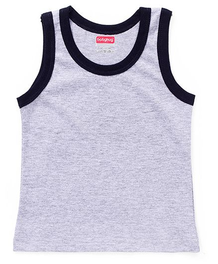 Babyhug Sleeveless Vest - Grey