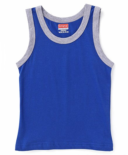 Babyhug Sleeveless Vest - Royal Blue