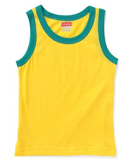 Babyhug Sleeveless Vest - Yellow