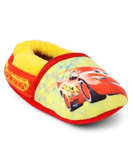 Disney Pixar Cars Slip-on Style Booties - Yellow