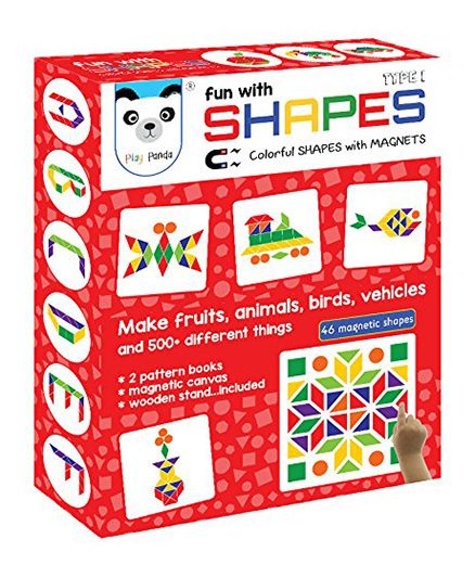 Play Panda Fun With Shapes Type 1  - Multi Color