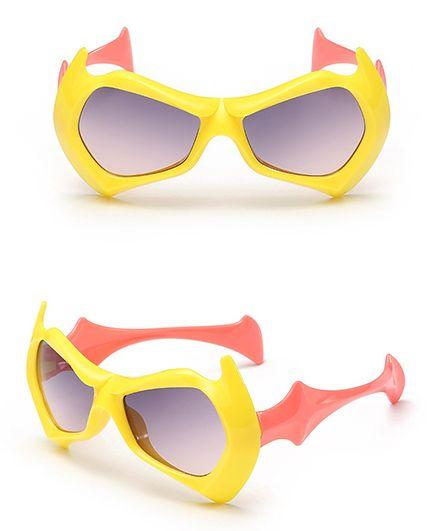 Priaansha Creations Kids Sunglasses - Yellow Peach