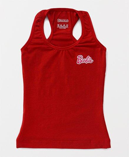 Barbie Sleeveless Racerback Slip - Red
