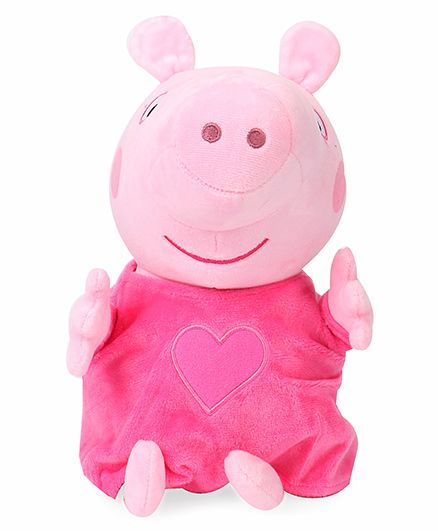 Peppa Pig Soft Toy Pink - Height 30 cm
