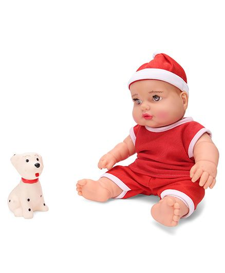Speedage Sunny Baba Doll With Pet Red - 20 cm