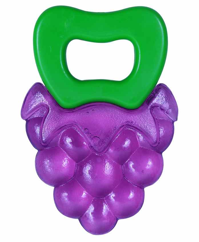 1st Step - Water Filled Grapes Bunch Teether