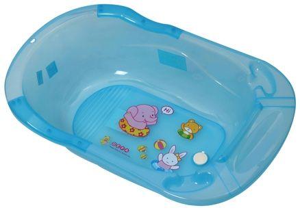 Fab N Funky Baby Bath Tub Animal Print - Blue