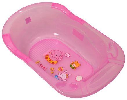 Fab N Funky Baby Bath Tub Animal Print - Pink
