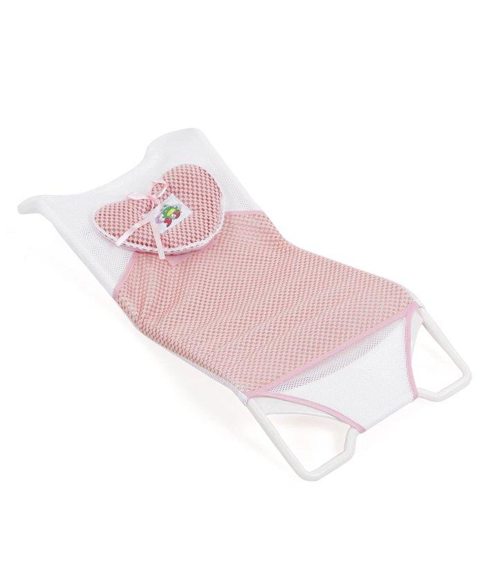 Baby Bath Rake - Pink White