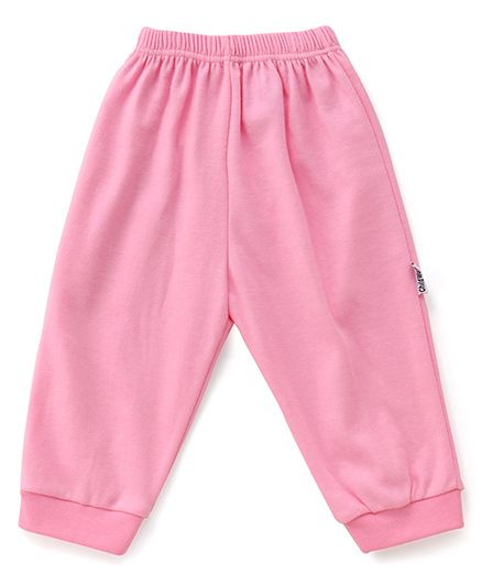 Child World Solid Color Lounge Pants - Pink