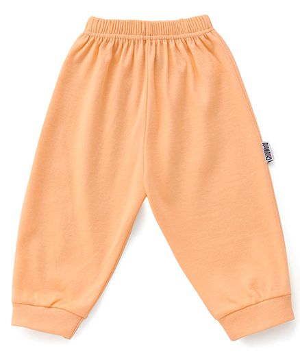 Child World Solid Color Lounge Pants - Peach
