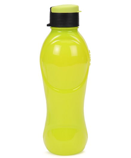 Cello Homeware Splash Flip Top Water Bottle Yellow - 600 ml