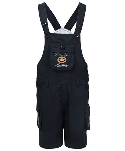 FirstClap Dungaree With Pocket - Blue