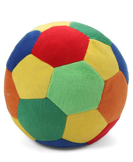 My Baby Excel Plush Ball - Multi Color 20 Cm