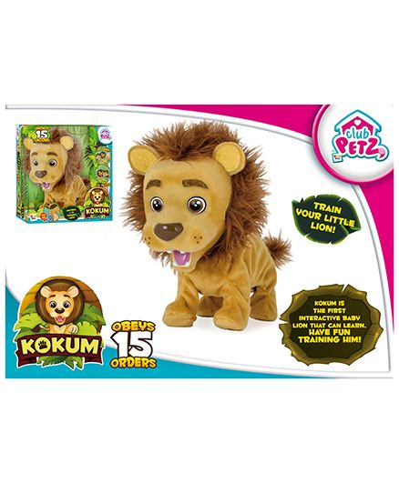 IMC Kokum The Little Lion Toy - Brown