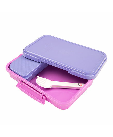jaypee Lunchflix Lunch Box - Blue Pink