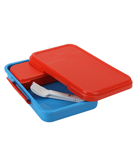 jaypee Lunchflix Lunch Box - Red Blue