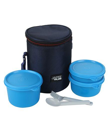 Jaypee Multi Decker 3 Lunch Box Set - Blue