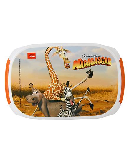 Jaypee Madagascar Print My Box Lunch Box Orange White - 900 ml