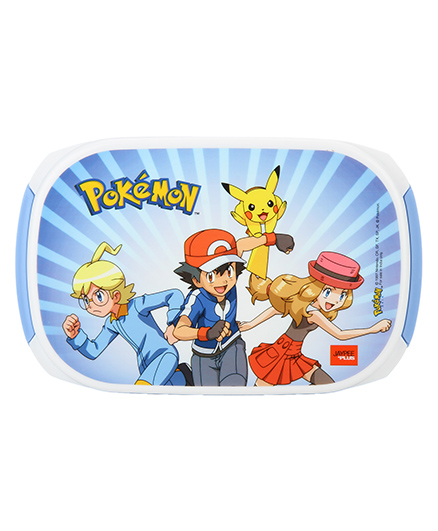 Jaypee Pokemon Print My Box Lunch Box Blue White - 900 Ml