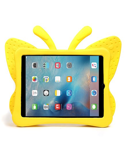 Baby Oodles Butterfly Shaped iPad Case - Yellow