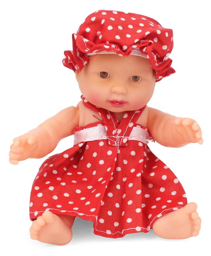 Speedage Nonie Junior Doll Red - 10 cm