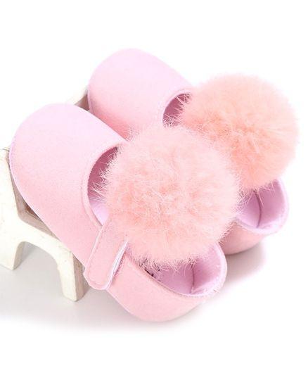 Wow Kiddos Pram Crib Bebe Booties - Light Pink