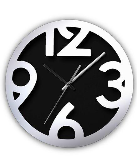 EZ Life Chunky Digits Clock - Black