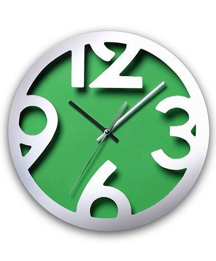 EZ Life Chunky Digits Clock - Green