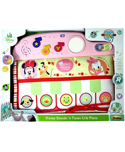 Disney Toy Sounds N Tunes Piano - Pink